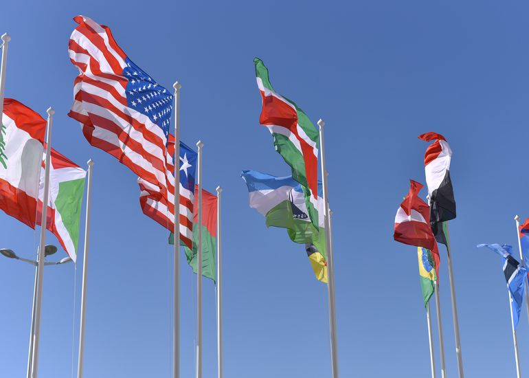 International collaboration and exchange is in our DNA.