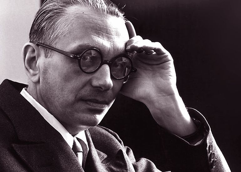 Kurt Gödel (1906-1978), Austrian-American logician, mathematician and philosopher.